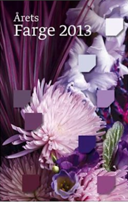 Bilde av Fargerike Fargekart Årets Farger 2013 bunt a 15