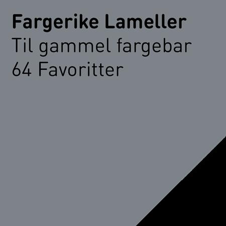Bilde for kategori Lameller til gammel fargebar: 64 Favoritter