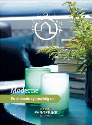 Picture of Fargerike Hjemmebesøk Moodboard Moderne bunt a 10