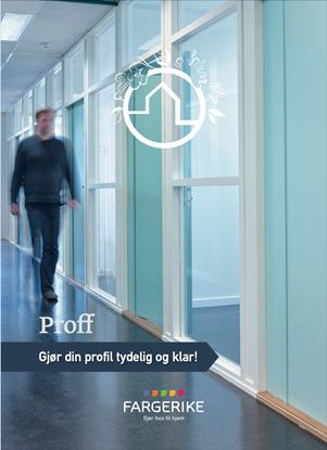 Bilde av Fargerike Hjemmebesøk Moodboard Proff bunt a 10