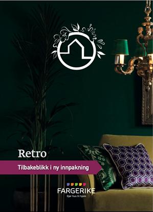 Bilde av Fargerike Hjemmebesøk Moodboard Retro bunt a 10