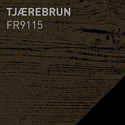 Picture of Fargerike Beis Lameller FR9115 Tjærebrun pakker a 20