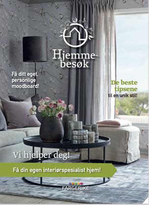 Bilde av Fargerike Hjemmebesøk Brosjyre 6 sider bunt a 50