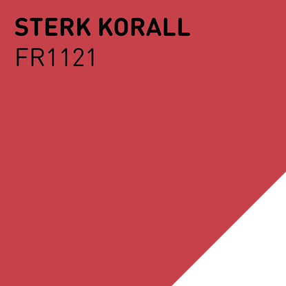 Bilde av Fargerike ÅF 2021 Lameller FR1121 Sterk Korall pakker a 20