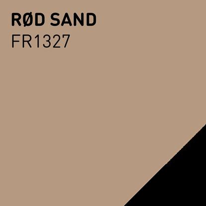 Bilde av Fargerike Inne Lameller FR1327 Rød Sand pakker a 20