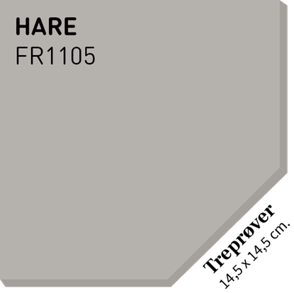 Picture of Fargerike Små Treprøver FR1105 Hare