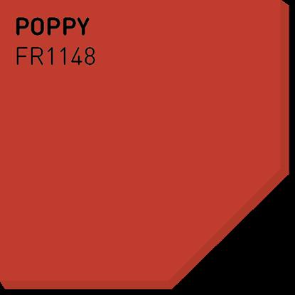 Picture of Fargerike Små Treprøver FR1148 Poppy