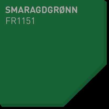 Picture of Fargerike Små Treprøver FR1151 Smaragdgrønn