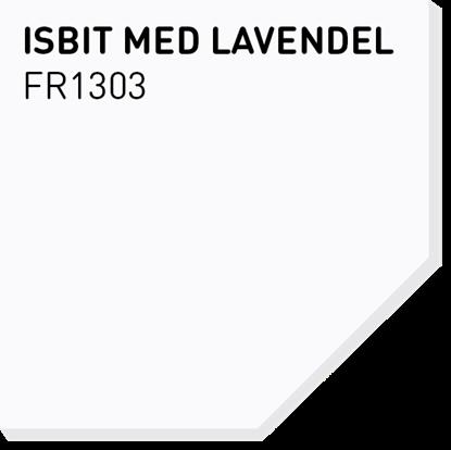 Picture of Fargerike Små Treprøver FR1303 Isbit med Lavendel