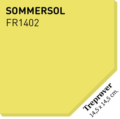 Picture of Fargerike Små Treprøver FR1402 Sommersol