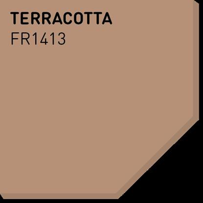 Picture of Fargerike Små Treprøver FR1413 Terracotta