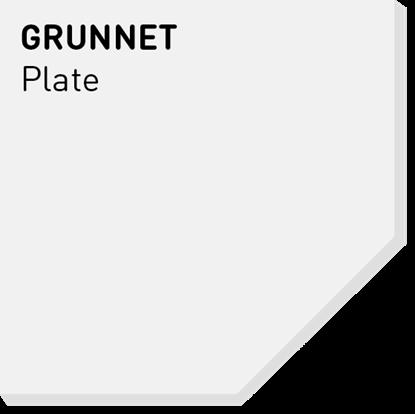 Picture of Fargerike Små Treprøver Grunnet Plate
