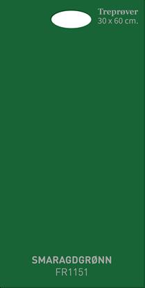 Picture of Fargerike Store Treprøver FR1151 Smaragdgrønn