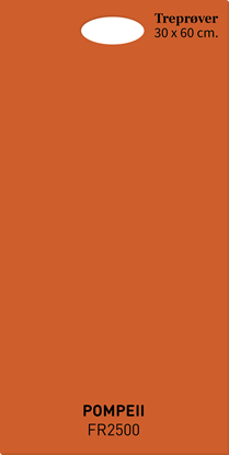 Picture of Fargerike Store Treprøver FR2500 Pompeii