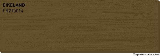 Bilde av Fargerike Terrasse Treprøver FR210014 Eikeland