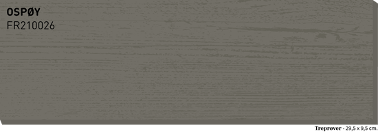 Bilde av Fargerike Terrasse Treprøver FR210026 Ospøy