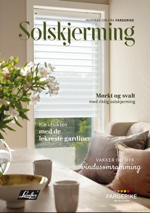 Bilde av Fargerike Solskjerming bunt a 25