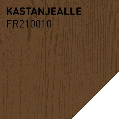 Bilde av Fargerike Terrasse Lameller FR210010 Kastanjealle pakker a 20