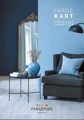 Bilde av Fargerike A3 plakat Kjølige & Blå Favoritter