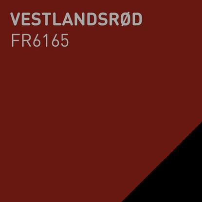 Bilde av Fargerike Ute Lameller FR6165 Vestlandsrød pakker a 20