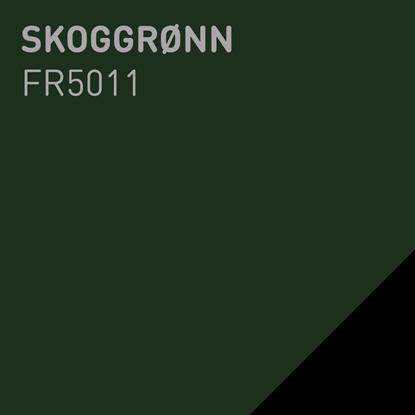 Bilde av Fargerike Ute Lameller FR5011 Skoggrønn pakker a 20
