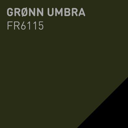 Bilde av Fargerike Ute Lameller FR6115 Grønn Umbra pakker a 20