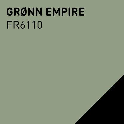 Bilde av Fargerike Ute Lameller FR6110 Grønn Empire pakker a 20