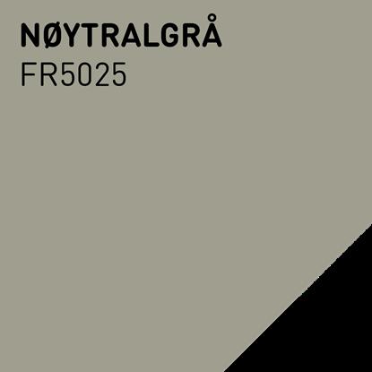 Bilde av Fargerike Ute Lameller FR5025 Nøytralgrå pakker a 20