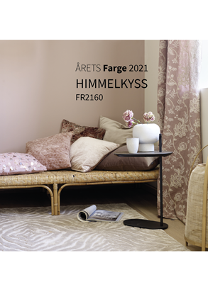 Bilde av Fargerike Stoffprint Stor Årets Farger 2021