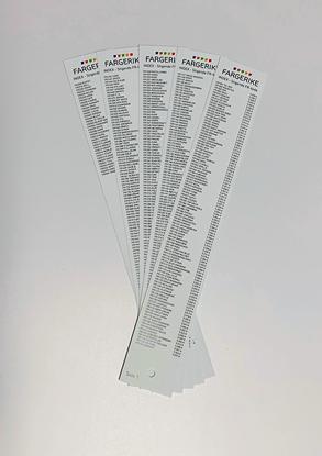 Bilde av Fargerike Vifte Interiør Index 5 sider